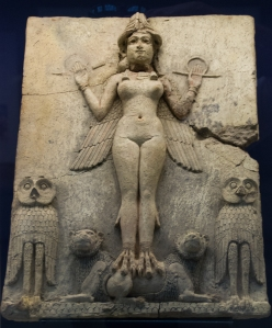 The Sumerian goddess, Inanna