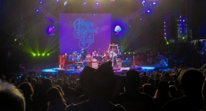 The Allman Brothers Band rocking the house on Sunday evening.